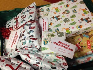 Food Bank Christmas Presents