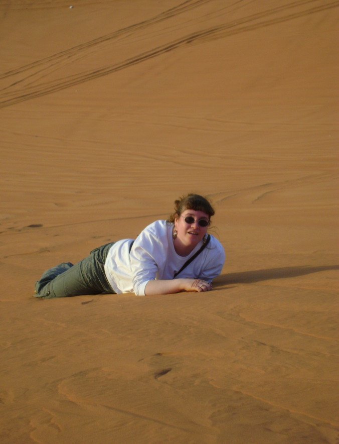 Me Climbing Dune