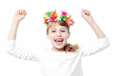 Child Rejoicing
