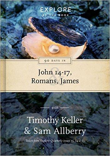 90 Days in John 14-17, Romans, James
